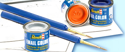 how to get enamel paint out of brushes